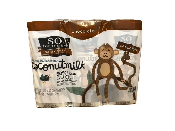 So delicious So Delicious Dairy Free Chocolate Coconutmilk, 6 x 8 fl oz
