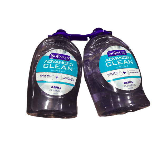 SoftSoap Softsoap Brand Clear Hand Soap Refill 80 Oz Btl 2 Pack
