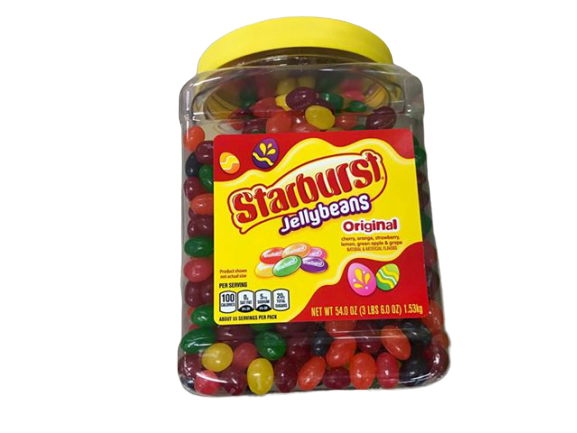Starburst Jellybeans Original, 54 oz
