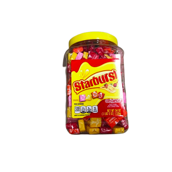 Starburst STARBURST Original Fruit Chew Candy 54-Ounce Party Size Jar