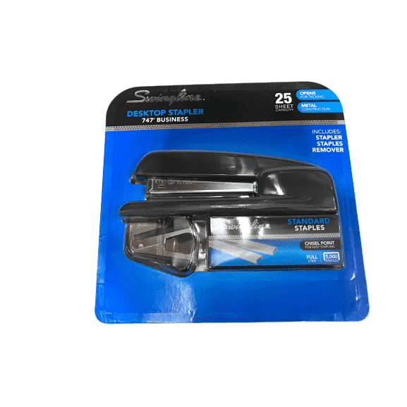 Swingline Desktop Stapler 747 With Staples Remover & 5000 Staples - ShelHealth.Com