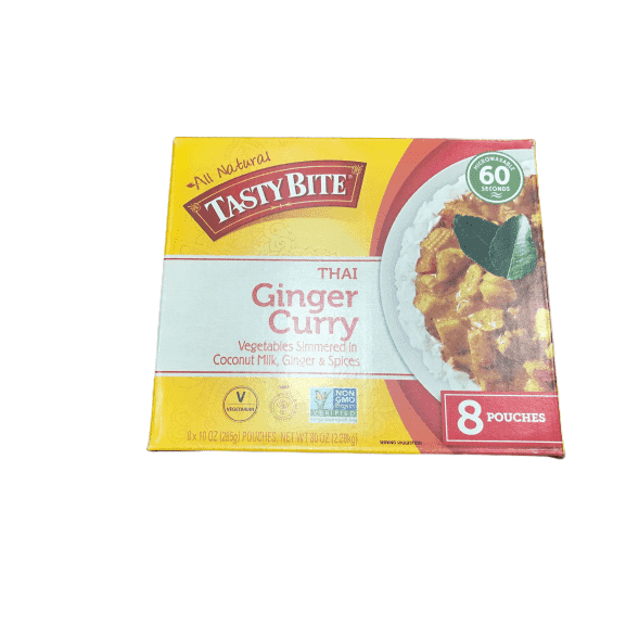 Tasty Bite Tasty Bite Thai Entree Penang Ginger Curry 10 Ounce (Pack of 8)