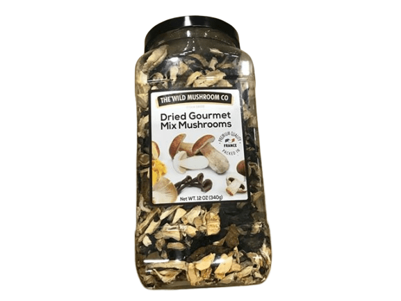The Wild Mushroom Co. The Wild Mushroom Co. Dried Gourmet Mix European Mushrooms 12 Ounces (340g)