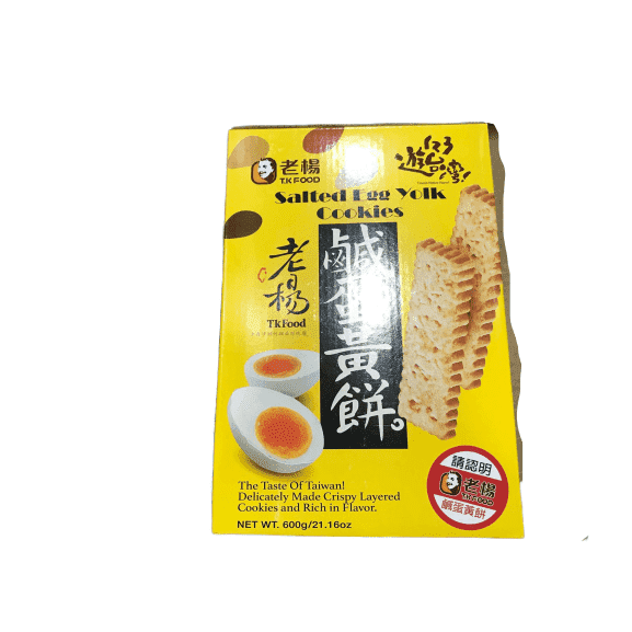 TK Food TK Food Salted Egg Yolk Cookies 600g/21.16 oz