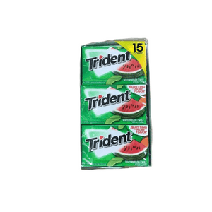 Trident WaterMelon Twist Gum, 14 Pieces (15 pk.) - ShelHealth.Com