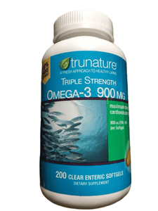 trunature trunature Triple Strength Omega-3 900 mg., 200 Softgels