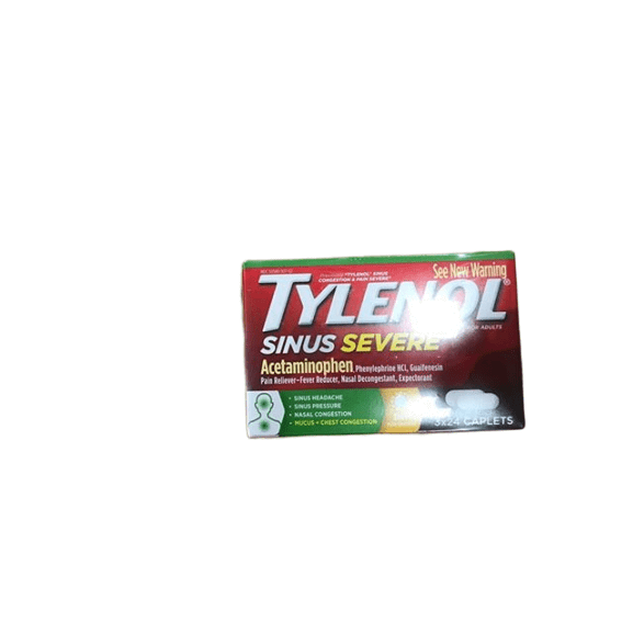Tylenol Tylenol Sinus Congestion and Pain Severe Caplets, 3 pk./24 ct.