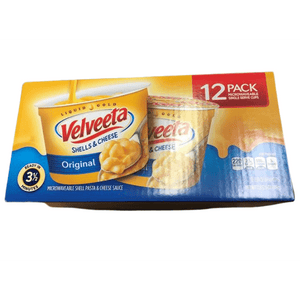 Velveeta Velveeta Original Shells and Cheese Single Serve Microwave Dinner, 2.39 oz (Pack of 12)