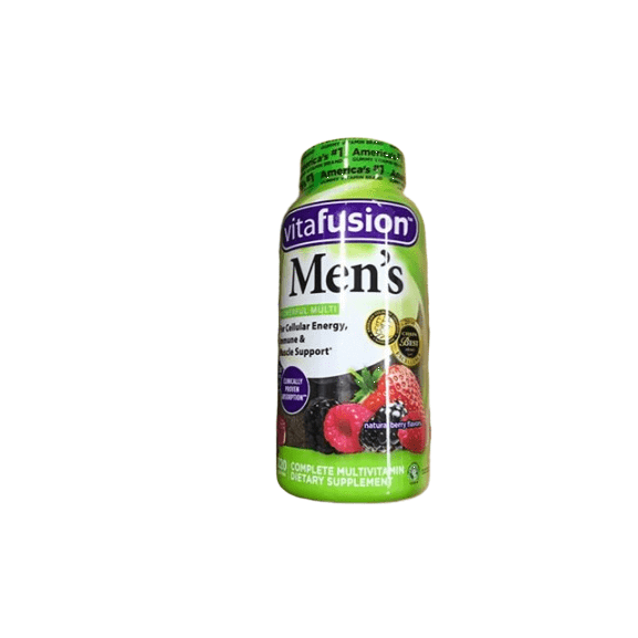 VitaFusion Vitafusion Men's Complete Multivitamin Gummies Natural Berry Flavors - 220 ct