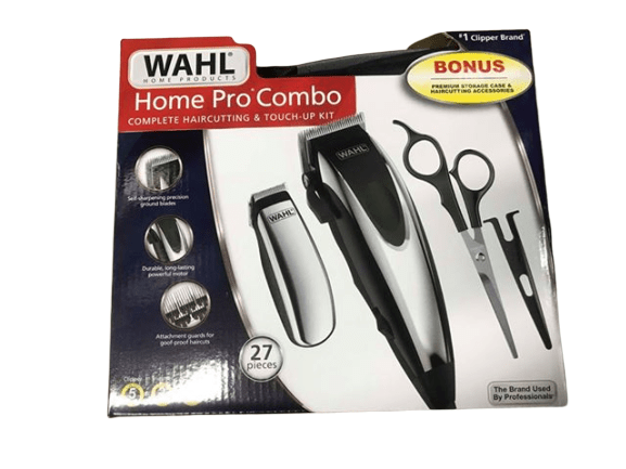 Wahl Wahl Home Pro Combo Complete Haircutting & Touch-Up Kit (27 Pieces)
