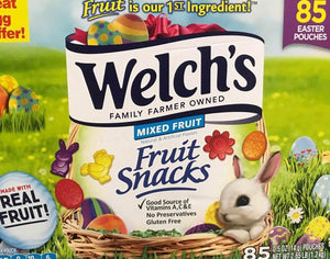 Welchs Welchs Mixed Fruit Snacks, Easter Edition, 85 Pouches