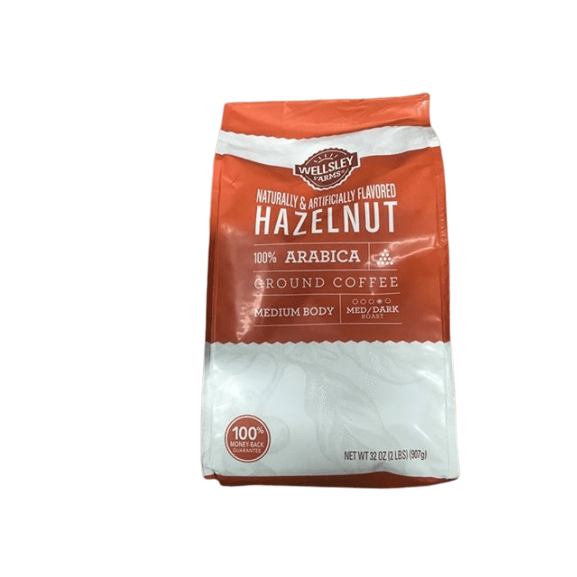 Wellsley Farms Hazelnut Ground Coffee, 32 oz. - ShelHealth.Com