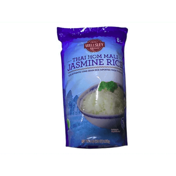 Wellsley Farms Thai Hom Mali Jasmine Rice, 8 lbs. - ShelHealth.Com