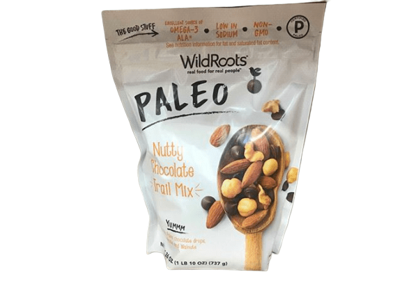 WildRoots Paleo Nutty Chocolate Trail Mix, 26 oz