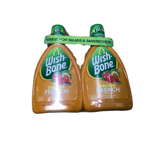 Wish-Bone Wish-Bone Salad Dressing, French, 24 Ounce (Pack of 2)