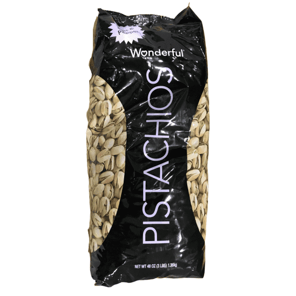 Wonderful Wonderful Pistachios, Salt and Pepper Flavor, 48 Ounce Bag
