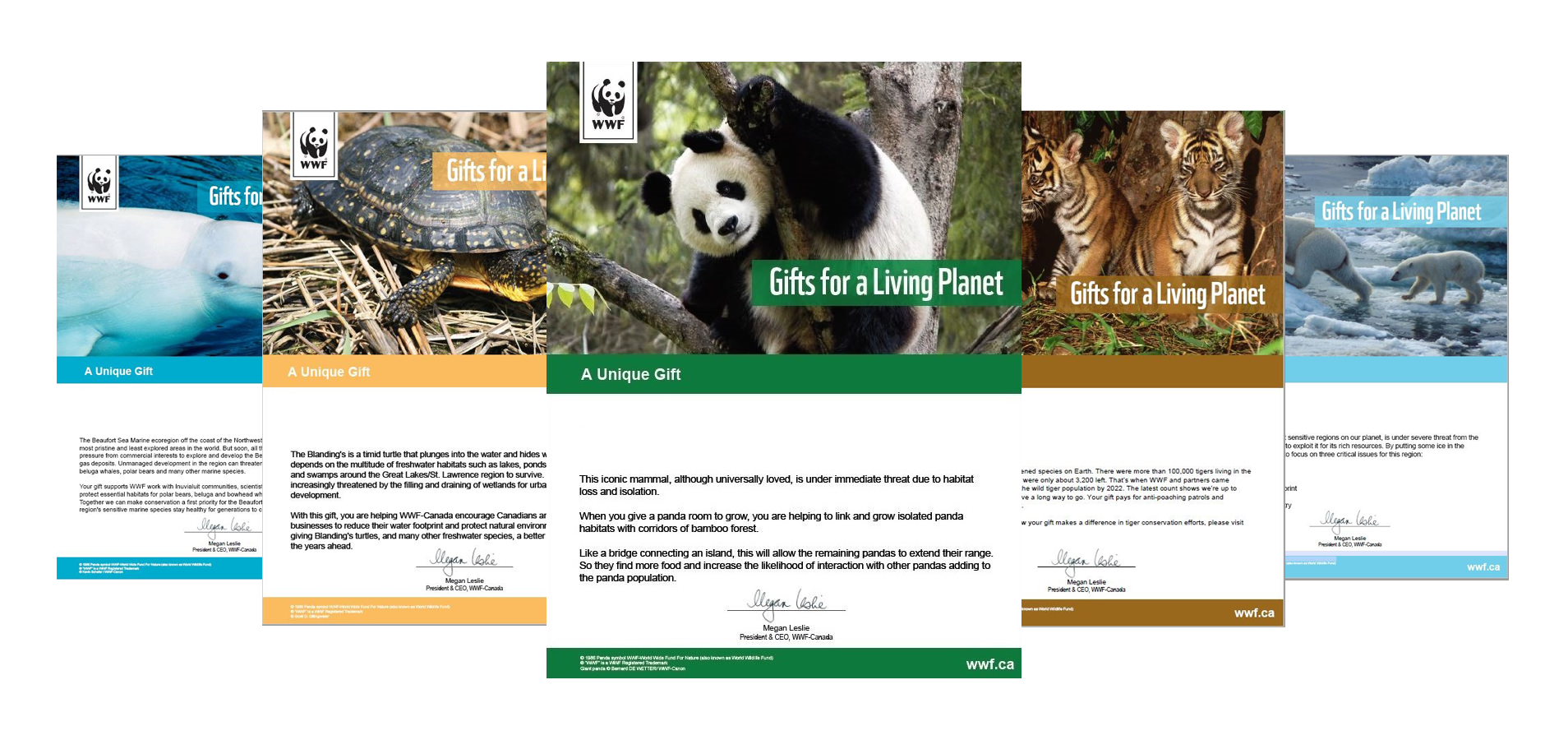 Virtual Gifts | WWF-Canada