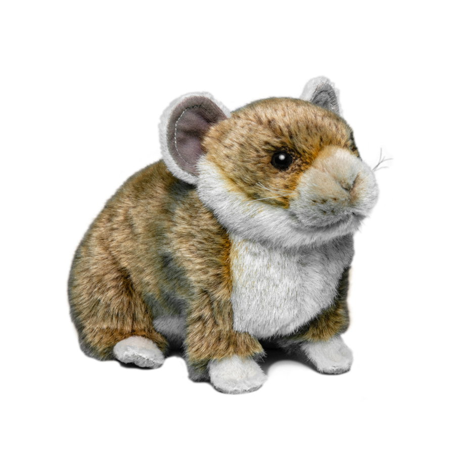 Collared pika plush
