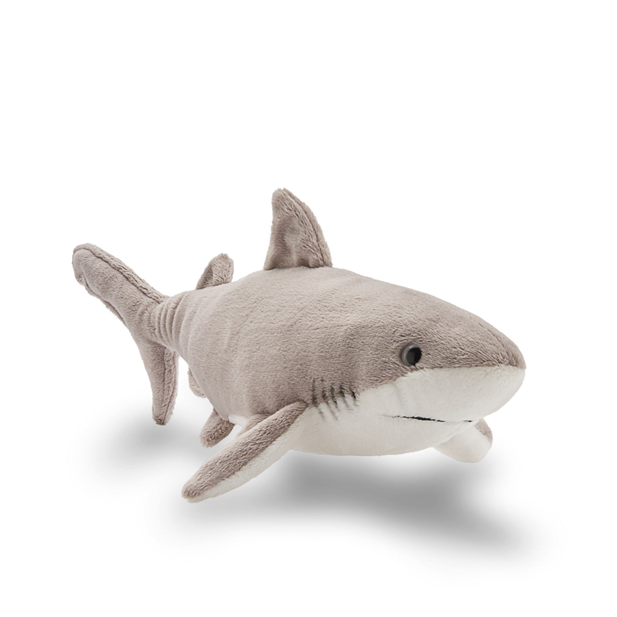 Great white shark plush