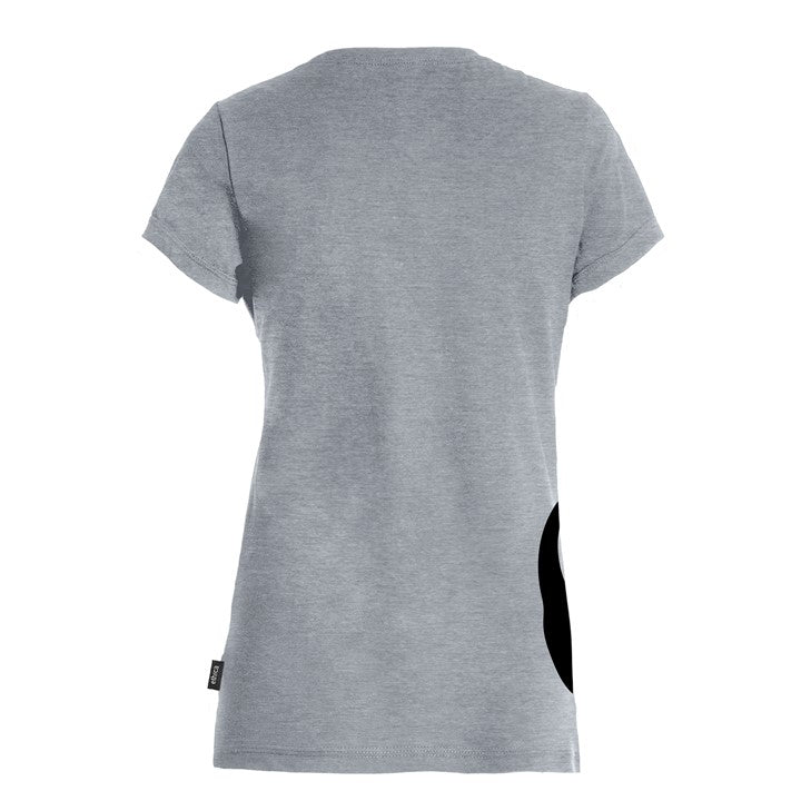 Panda Women's V-neck Tee - Back