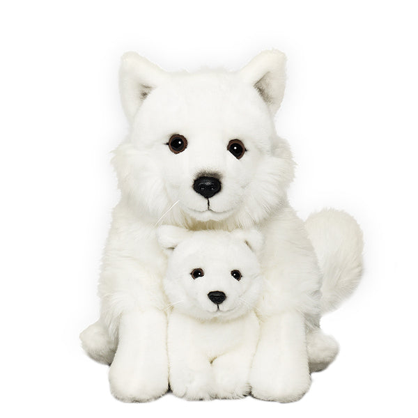 Arctic Fox Family Plush
