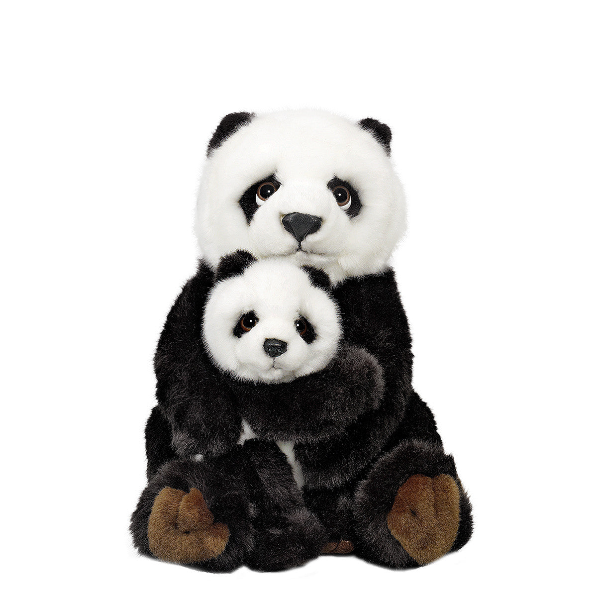 Giant Panda Family Plush