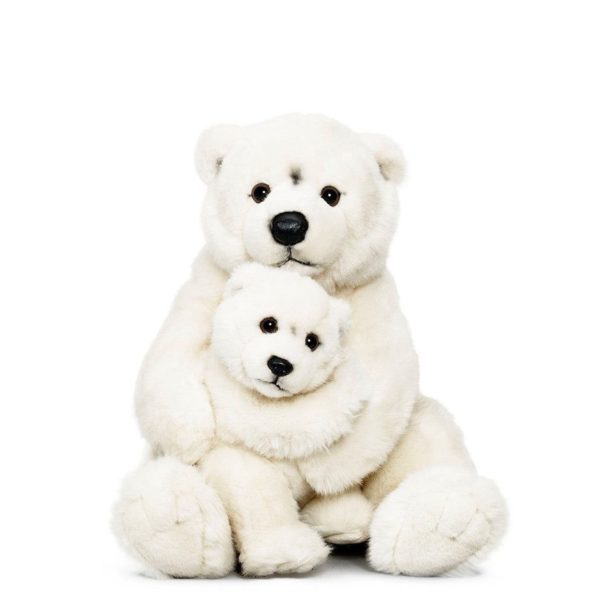Polar Bear Family Plush