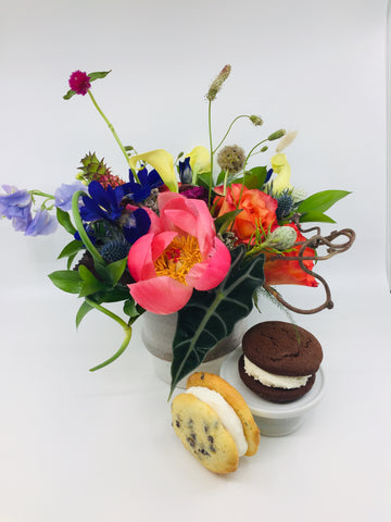 Whoopie Pies and flowers
