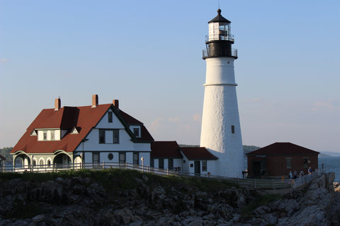 Cape Elizabeth Maine treats, Portland Headlight