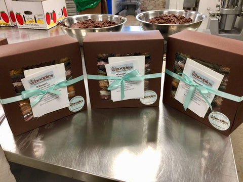 3 whoopie pie dozen boxes with ribbon and gift note