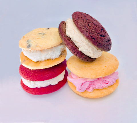 maine whoopie pies in assorted easter flavors