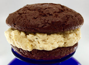 marylou's favorite chocolate and peanut butter whoopie pie