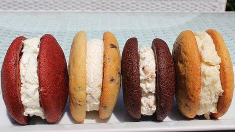 whoopie pies in assorted flavors