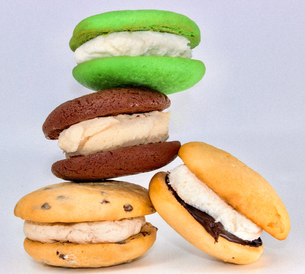 st patricks day whoopie pies assortment