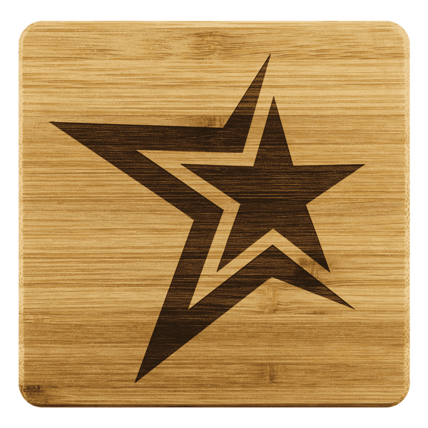 Customized Bamboo Coaster - LifeStar