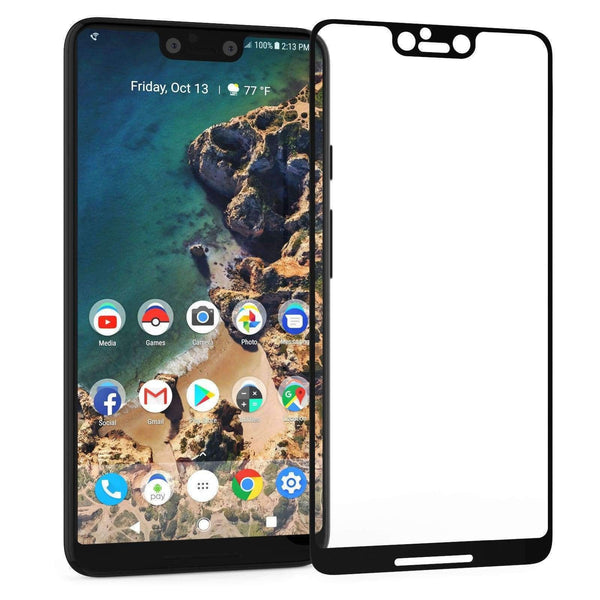 3D Full Cover Tempered Glass Screen Protector for Google Pixel 3 XL - LifeStar
