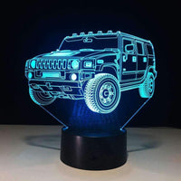 SUV Car 3D Night Light - LifeStar