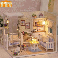 DIY Wooden House with Furniture - LifeStar