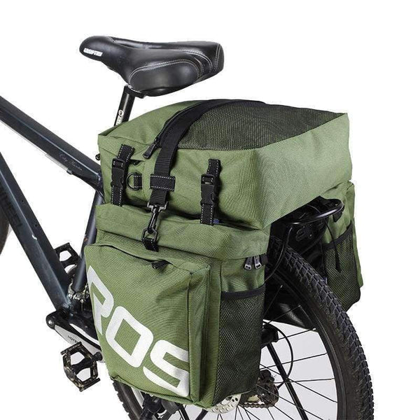 ROSWHEEL 14892 Mountain Road Bicycle Bike 3 in 1 Trunk Bags - LifeStar