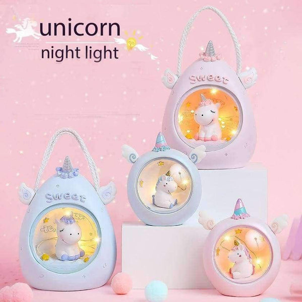 Cartoon Unicorn LED Night Light  Table Decorative - LifeStar