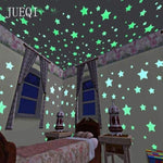 3D Coloful Starry Sky Luminous Fluorescent Star - LifeStar