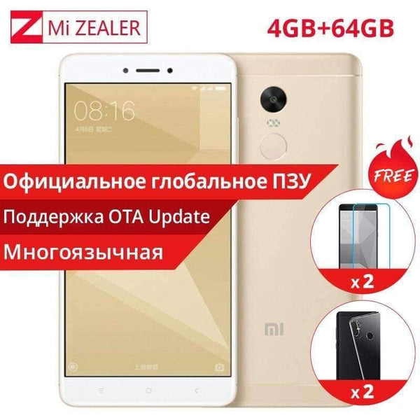 Original Xiaomi Redmi Note 4X 4GB RAM 64GB