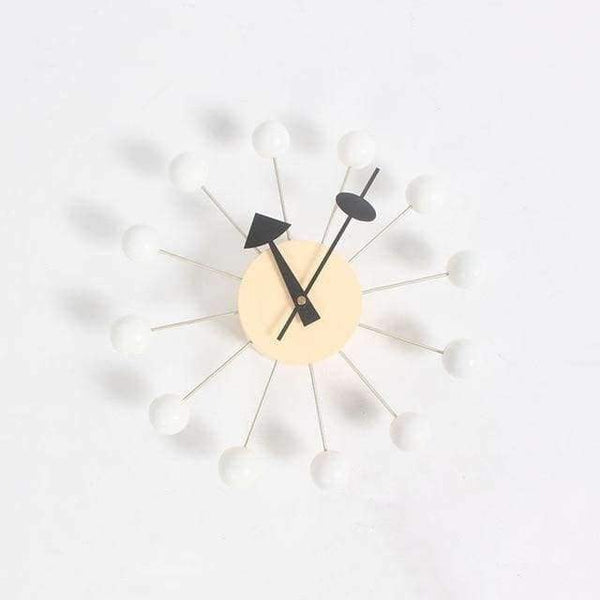 modern luxury home decorative diy wooden ball wall clock Candy clock simple clock