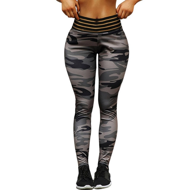 Camo High-waist Fitness Legging