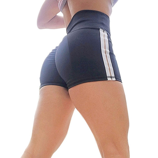 Striped Yoga Short