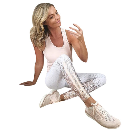 Gold Workout Legging