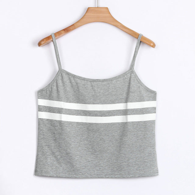 Striped Halter Croptop