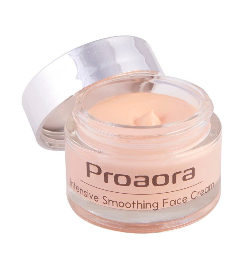 Intensive Smoothing Face Night Cream with Astaxanthin - proaora