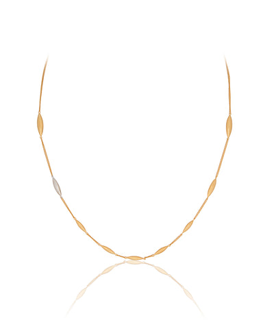 Gold Rice Chain Necklace - Vurchoo
