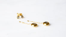 Load image into Gallery viewer, Gold Tear Drop Pendant Attachments & Stud Earrings